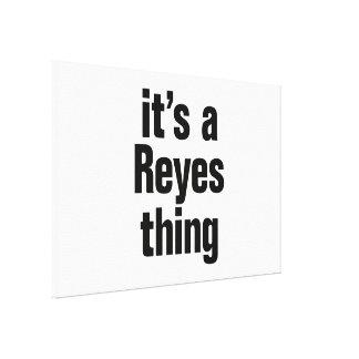 su una cosa de Reyes Impresiones En Lienzo Estiradas