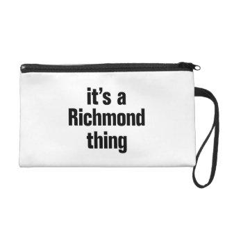 su una cosa de Richmond