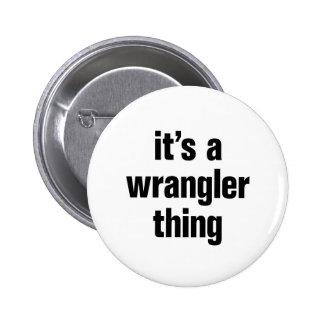 su una cosa de Wrangler Chapa Redonda 5 Cm
