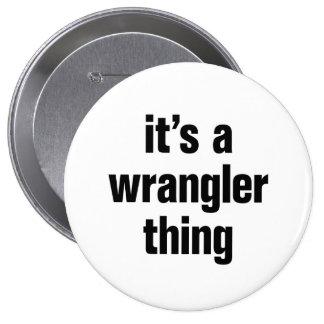 su una cosa de Wrangler Chapa Redonda 10 Cm