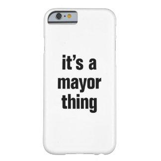 su una cosa del alcalde funda barely there iPhone 6