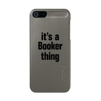 su una cosa del booker funda para iPhone 5 incipio feather shine