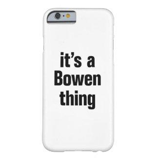 su una cosa del bowen funda de iPhone 6 barely there