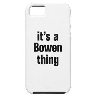 su una cosa del bowen iPhone 5 funda