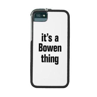 su una cosa del bowen