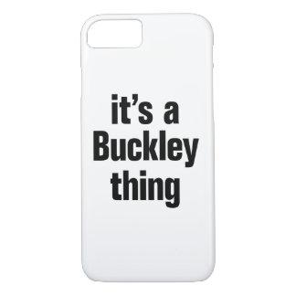 su una cosa del buckley funda iPhone 7
