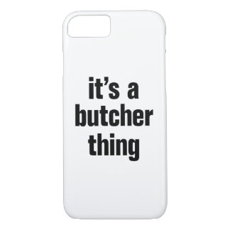 su una cosa del carnicero funda iPhone 7