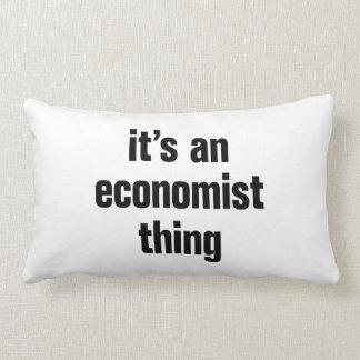 su una cosa del economista almohada