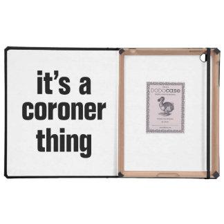 su una cosa del forense iPad carcasas