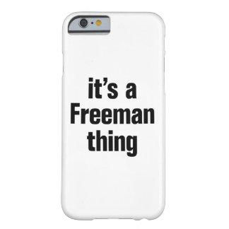 su una cosa del freeman funda barely there iPhone 6