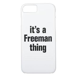 su una cosa del freeman funda iPhone 7