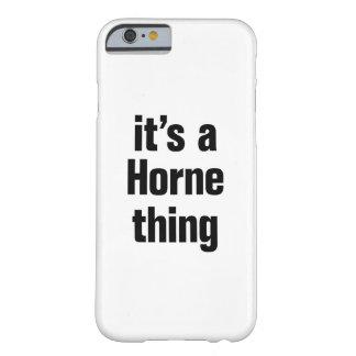 su una cosa del horne funda barely there iPhone 6