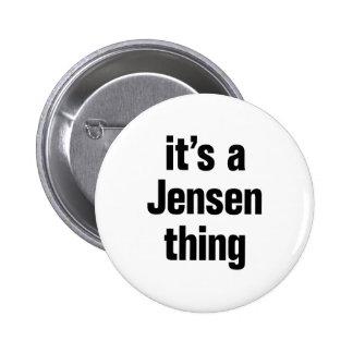 su una cosa del jensen pin redondo 5 cm