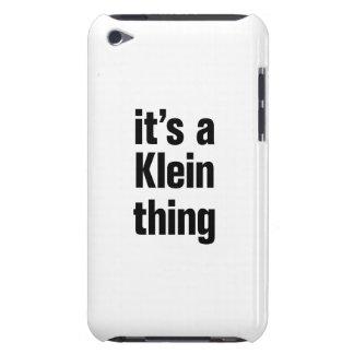 su una cosa del klein iPod Case-Mate cárcasa