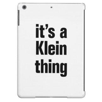 su una cosa del klein funda para iPad air