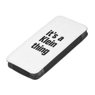 su una cosa del klein funda acolchada para móvil
