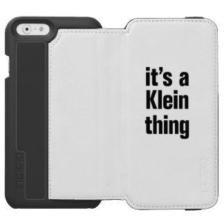 su una cosa del klein funda cartera para iPhone 6 watson