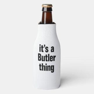 su una cosa del mayordomo enfriador de botellas