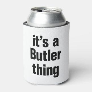 su una cosa del mayordomo enfriador de latas