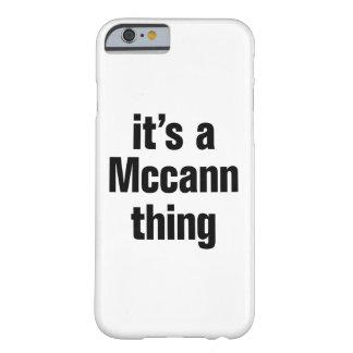 su una cosa del mccann funda para iPhone 6 barely there