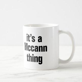 su una cosa del mccann taza clásica