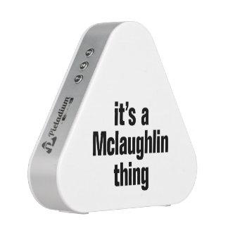 su una cosa del mclaughlin altavoz