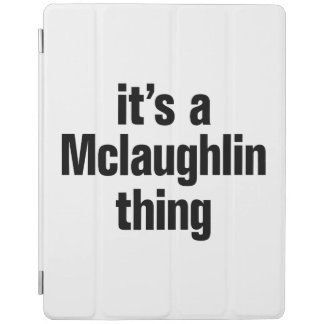 su una cosa del mclaughlin cubierta de iPad