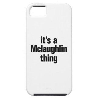 su una cosa del mclaughlin iPhone 5 funda