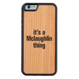 su una cosa del mclaughlin funda de iPhone 6 bumper cerezo