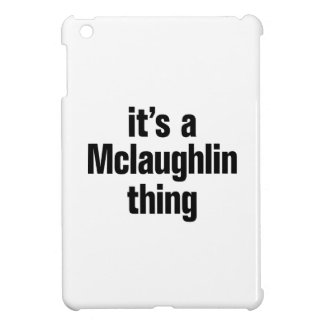 su una cosa del mclaughlin