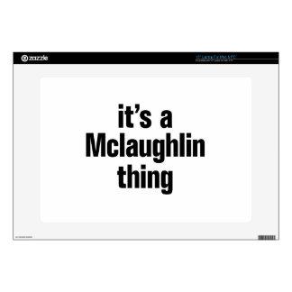 su una cosa del mclaughlin skins para 38,1cm portátil