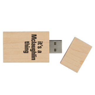 su una cosa del mclaughlin memoria USB 2.0 de madera