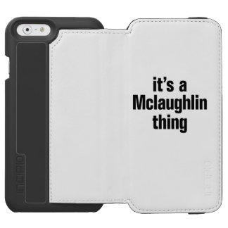 su una cosa del mclaughlin funda billetera para iPhone 6 watson
