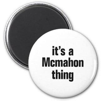 su una cosa del mcmahon imán redondo 5 cm