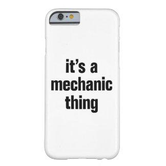 su una cosa del mecánico funda barely there iPhone 6