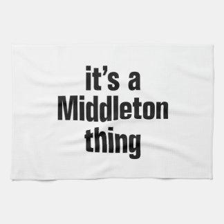 su una cosa del middleton toallas