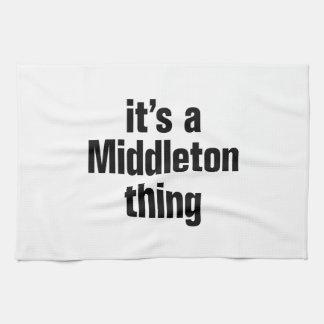 su una cosa del middleton toalla de cocina
