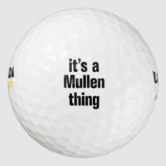 su una cosa del mullen pack de pelotas de golf