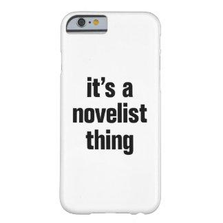 su una cosa del novelista funda para iPhone 6 barely there