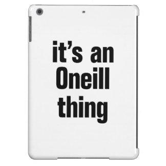su una cosa del oneil funda para iPad air