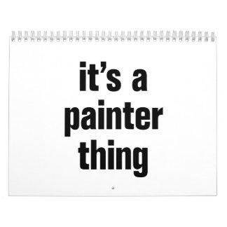 su una cosa del pintor calendarios