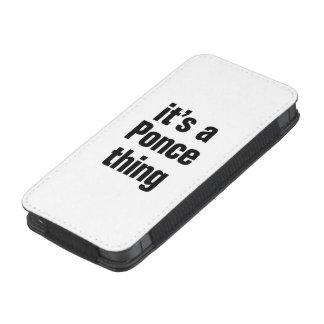 su una cosa del ponce funda para iPhone 5