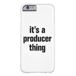 su una cosa del productor funda barely there iPhone 6