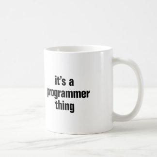 su una cosa del programador taza clásica