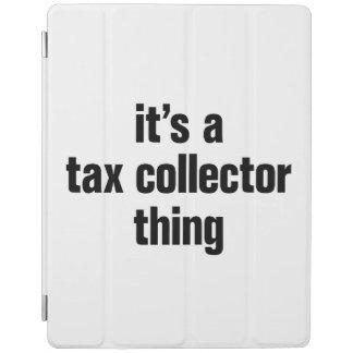 su una cosa del recaudador de impuestos cubierta de iPad