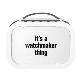 su una cosa del relojero