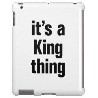 su una cosa del rey funda para iPad