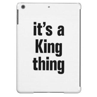 su una cosa del rey funda para iPad air