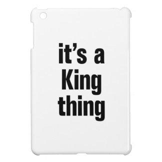 su una cosa del rey
