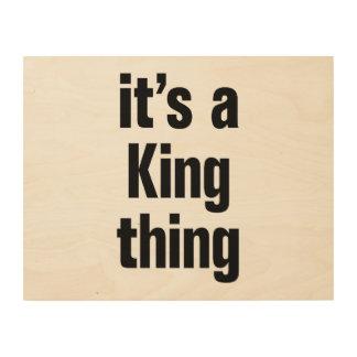 su una cosa del rey cuadros de madera